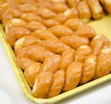 Glazed Twist Donuts