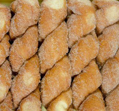 Cinnamon Sugar Twist Donuts