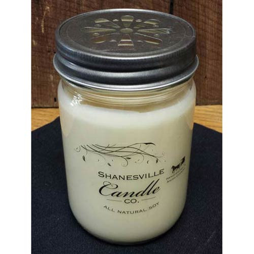 Gingerbread. All-natural triple scented soy candle hand poured by Shanesville Candle Co. in Ohio