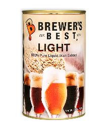BREWERS BEST LIGHT LIQUID MALT EXTRACT 3.3 LB