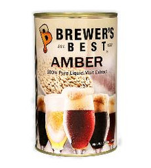 BREWERS BEST AMBER LIQUID MALT EXTRACT 3.3 LB