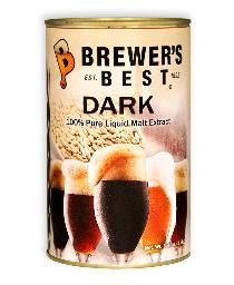 BREWERS BEST DARK LIQUID MALT EXTRACT 3.3 LB