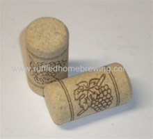 7X1 3/4 FIRST QUALITY STRAIGHT WINE CORKS PORE FILLED 30/BAG