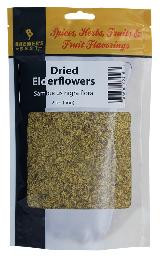 BREWER'S BEST DRIED ELDER- FLOWERS 2 OZ