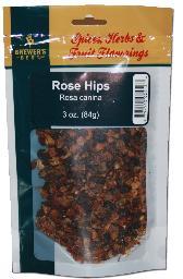 BREWER'S BEST ROSE HIPS 3 OZ