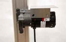 Blichmann TopTier pump Bracket and Drip shield for March 809 Pump