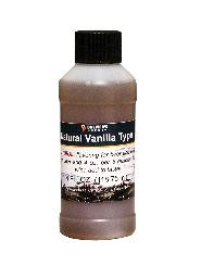 NATURAL VANILLA TYPE FLAVORING EXCTRACT 4 OZ
