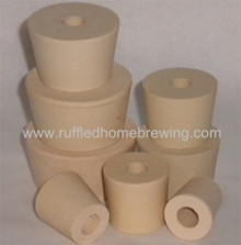 #7 RUBBER STOPPER DRILLED