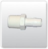 Connector Thread Barb 1/2""