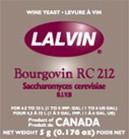 Lalvin Bourgovin RC 212