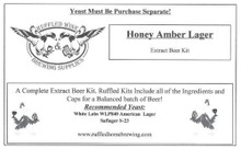 Honey Amber Lager