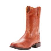 Ariat Men's Heritage Roper Naturally Cognac Brown Boots 10025163