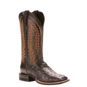 Ariat Men's Black Full Quill Ostrich Relentless Boots - 10025177