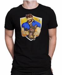 Adam Like Frenchies T-shirt BLACK - Bobo Bear