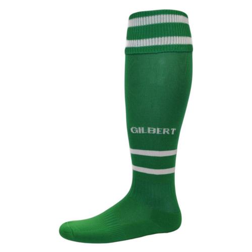 Green Rugby Socks: Gilbert Rugby Socks