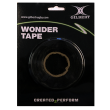 The tape that sticks to itself not to you! Can be used for taping on the body or holding socks up.