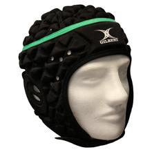 Gilbert XACT Headguard - Black/Green