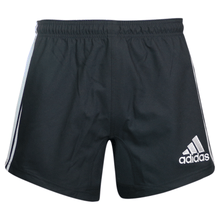 Adidas 3-Stripes Performance Rugby Shorts - Black