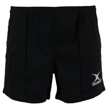 Gilbert Kiwi Pro Youth Rugby Shorts - Black