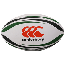Canterbury Practice Rugby Ball - White/Forest/Black