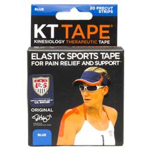 KT Cotton Elastic Sports Tape - Blue