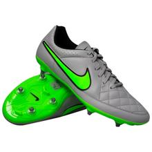 Nike - Tiempo Genio SG Wolf Grey/Green Strike/Black
