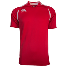 Canterbury Challenge Rugby Jersey - Scarlet/White