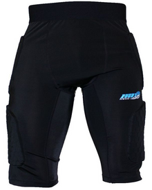 Rugby Armour Compression Padded Base Layer Thermal Under Shorts