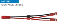 AMASS Parallel Y leads-JST/BEC 20# SIL 10cm AM-7010 (5pcs/bag)