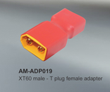 AMASS XT60 male to Deans female adapter (2pcs)