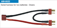 AMASS Batteries- Deans 14# SIL 7cm