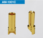 Amass 3.5mm Gold Plated Connectors (Male + Female) 10 pairs (20pcs)