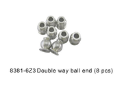 DHK 8381-6Z3 Optimus XL Double way ball end (8pcs)