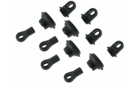 Himoto 1/10 scale RC CAR parts 31031 Upper/Lower Shock End 4P Set