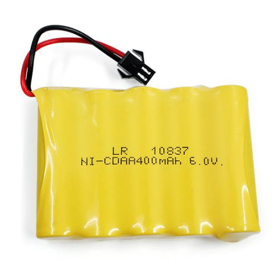HUINA 6V 400mah battery RC Excavator Spare Parts suit 310 360 510 587