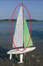 Beili Sailboat Triumph 800 Sailboat BY0303 Sail