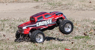 DHK Crosse Brushless 1/10th Scale Monster Truck RTR Version W/ 2.4GHz Radio System and 7.4V Lipo Battery