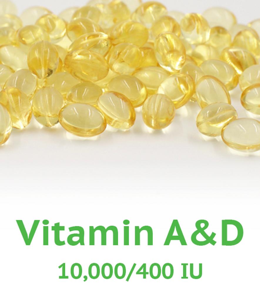 Vitamin A&D 10,000/400 IU Softgel