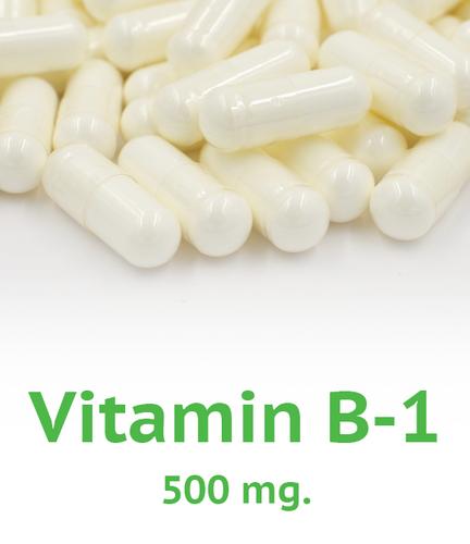 Vitamin B-1 500 mg Capsule