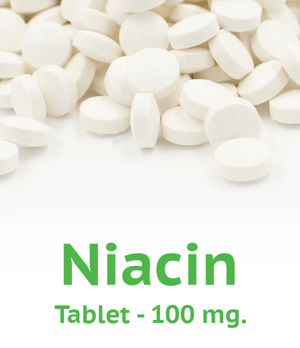 Niacin 100 mg Tablet