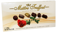 Maitre Truffout assorted rose pralines..400 gr., 12/cs,