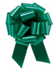 """4"""" Matte Pull Bows - 50 bows/case - Emerald Green"""