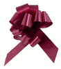 "4"" Matte Pull Bows - 50 bows/case - Burgundy"