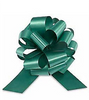 """8"""" Matte Pull Bows - 80 bows/case - Forest Green"""