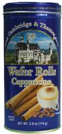 Cambridge & Thames wafer rolls - cappuccino 114 gr.,12/cs