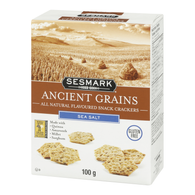 Gluten Free Sesmark Ancient Grains  Sea Sat 100 gr., 6/cs Kosher