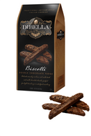 Dibella Biscotti (six individually packed biscotties) 187 gr., 10/cs, Double Chocolate Fudge