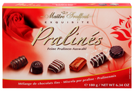Maitre Truffout assorted pralines Red Rose 180 gr., 8/cs