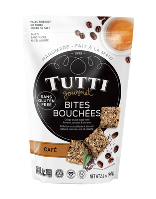 Tutti Bites - Cafe 80 gr., 12/cs