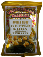 Coney Island Kettle Popcorn with Himalayan pink salt - Butter Me Up 28 gr., 36/cs